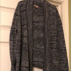 Dressy sweater cardigan
